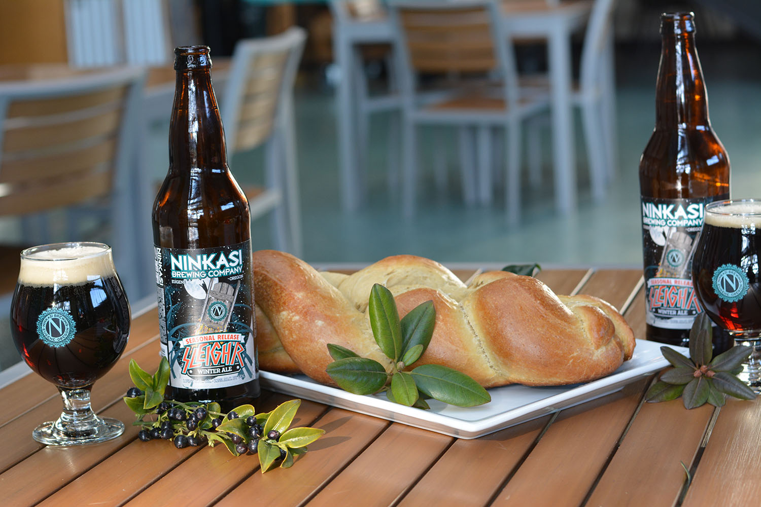 Challah Beer Bread Recipe with Sleighr Winter Ale