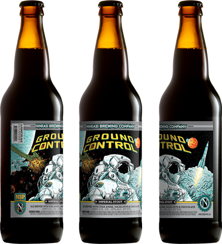 Ninkasi Brewing Company Introduces Ground Control, Imperial Stout Fermented with Space-Traveled Yeast