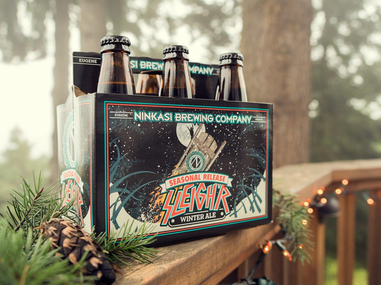 Sleigh'r Winter Ale Returns to Ninkasi Brewing Company's Seasonal Release Series