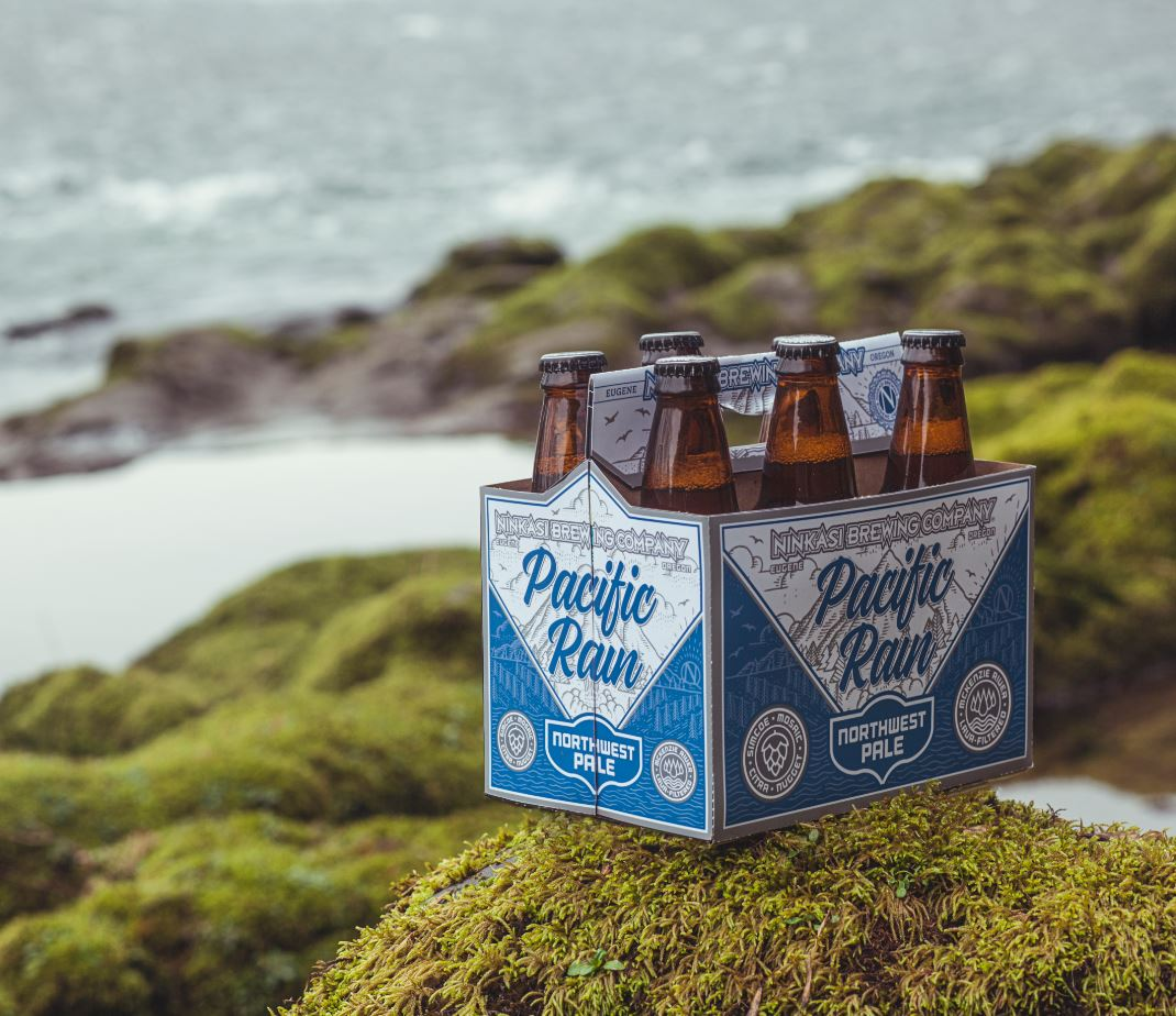 Pacific Rain Northwest Pale: Brewed with Lava-Filtered Water