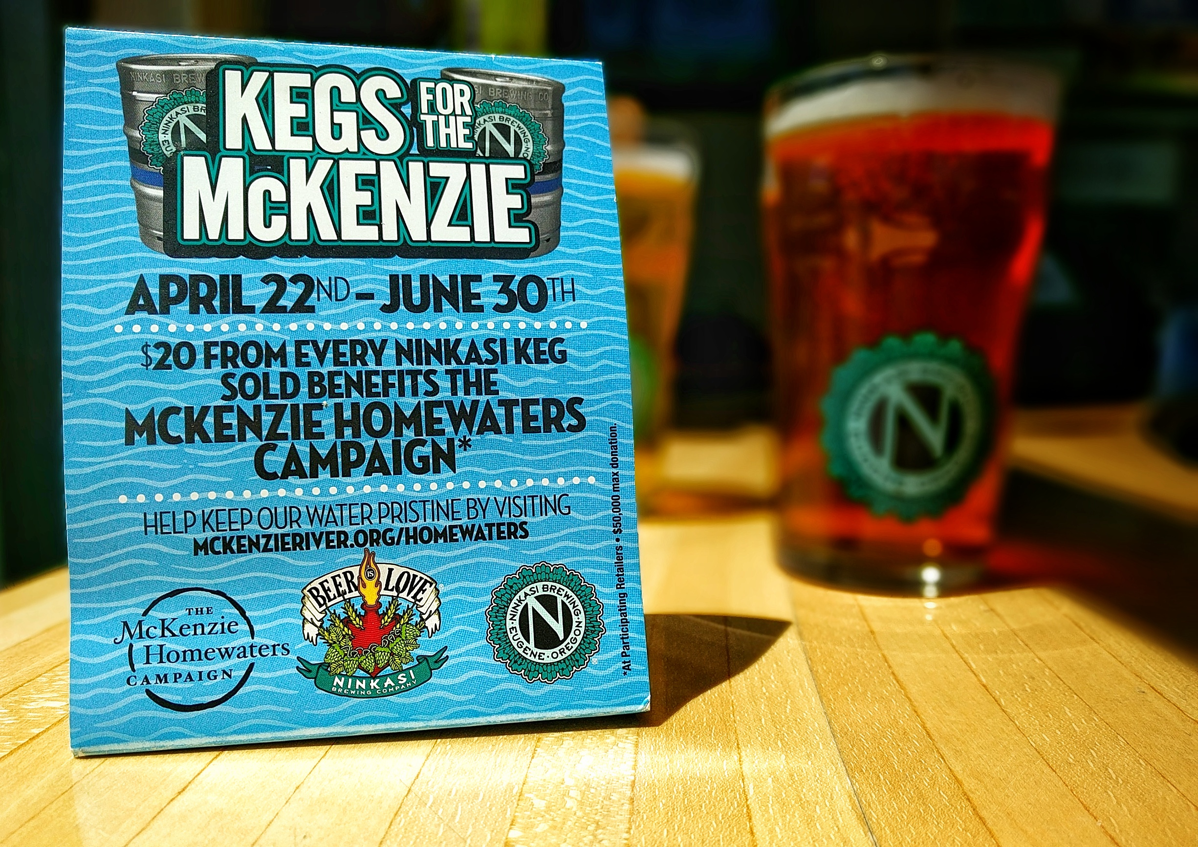 Drink Beer, Raise Money for the McKenzie River
