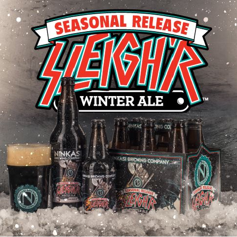 Ninkasi Brewing Company Unveils New Sleighr Packaging