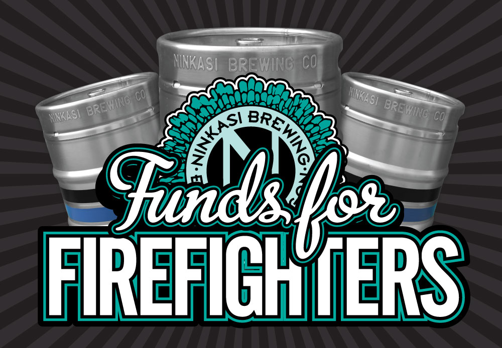 Ninkasi Brewing Company and Bigfoot Beverages Kick off Bend Funds for Firefighters this May